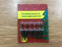 Spare Flashing 13v Bulbs